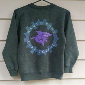 Vintage Maui and Sons Shark Sweatshirt
